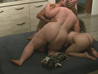 Subdue Amateur Bisex Cuckold Team of two / mmf bi / dp vanginal .
