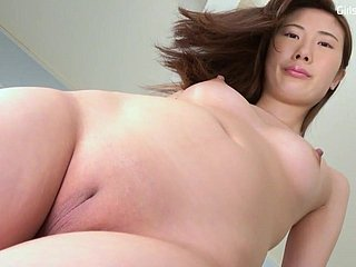 solo Japanese small gut shaved pussy 3
