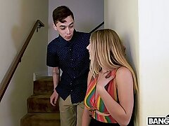 Surprise for sex-starved mommy by Juan El Caballo Loco and his girlfriend