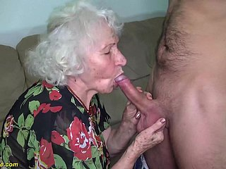 big gradual 91 age elderly mummy crooked fucked